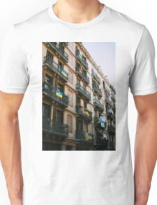 Typical Building In Barcelona Unisex T-Shirt