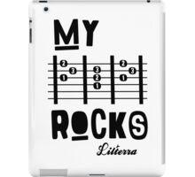 My -D-A-D- Rocks! By lilterra.com iPad Case/Skin