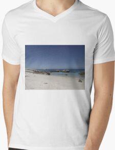 Boulders Beach Mens V-Neck T-Shirt