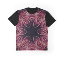 Kaleidoscope Fireworks Graphic T-Shirt