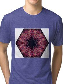 Kaleidoscope Fireworks Tri-blend T-Shirt
