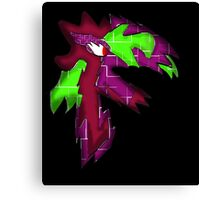 Furry Colorfull Monster Canvas Print