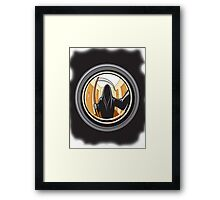Bad Lens Look Framed Print