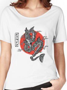 Gyarados Japan Brush Stroke Women's Relaxed Fit T-Shirt