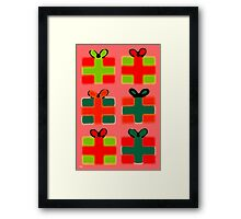 TIME FOR GIFTS Framed Print