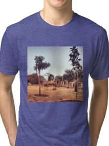 RURAL INDIA Tri-blend T-Shirt