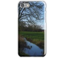 Ye old town field iPhone Case/Skin