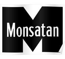 Monsatan (White) Poster