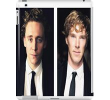 Benedict Cumberbatch and Tom Hiddleston iPad Case/Skin