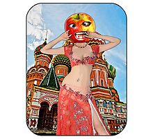 Moscow Apple Head Girl - Russia Photographic Print