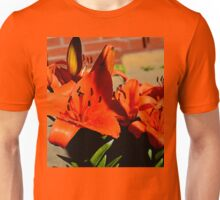the colourful flowers that stand out  Unisex T-Shirt