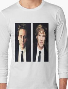 Benedict Cumberbatch and Tom Hiddleston Long Sleeve T-Shirt