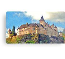 Austria - Rose castle Metal Print