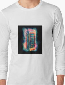 Phone Box Blues Long Sleeve T-Shirt
