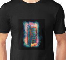 Phone Box Blues Unisex T-Shirt