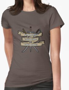 Nerdy Tee - Knights of the Cross Womens Fitted T-Shirt