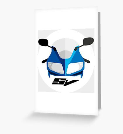 Suzuki SV650S & SV1000S /Marek/ Greeting Card