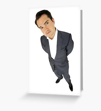 Jimmy Carr Greeting Card