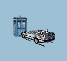Car Crash to The Future Unisex T-Shirt