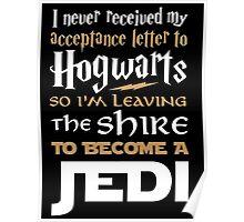 Harry Potter Star Wars Poster