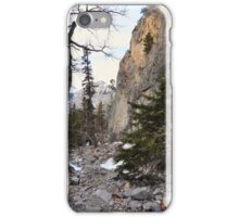 Climbers canyon iPhone Case/Skin