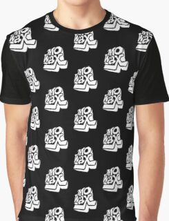 Record Label 3 (white) Graphic T-Shirt