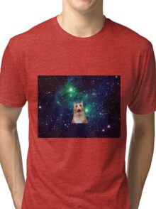 Space Cat!! Tri-blend T-Shirt