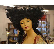 hair woman Photographic Print