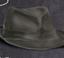 Hat For Leonard. Crazy Dream Chalk!  Sticker