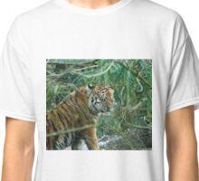 Close eyes sweet tiger Classic T-Shirt