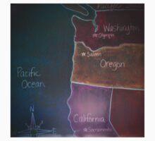 Pacific States - Detail Kids Tee