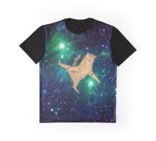 Space Cat 2 Graphic T-Shirt