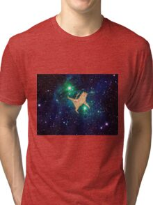 Space Cat 2 Tri-blend T-Shirt