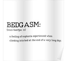 BEDGASM _ Urbandictionary Poster