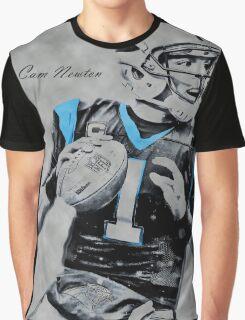 Camolina Panthers Graphic T-Shirt
