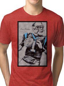 Camolina Panthers Tri-blend T-Shirt