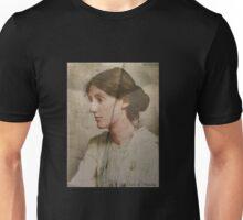 Virginia Woolf - texture Unisex T-Shirt
