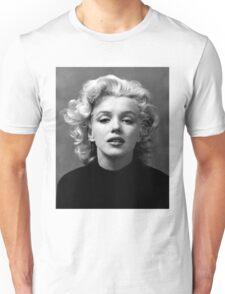 Vintage: Marilyn Monroe (Black&White) Unisex T-Shirt