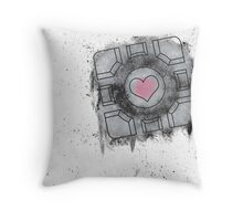 Portal Inspired art Throw Pillow