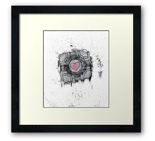Portal Inspired art Framed Print