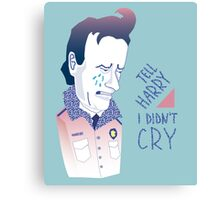 Lucy, Tell Harry I Didn't Cry Canvas Print
