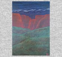 Red Rock Landscape Baby Tee