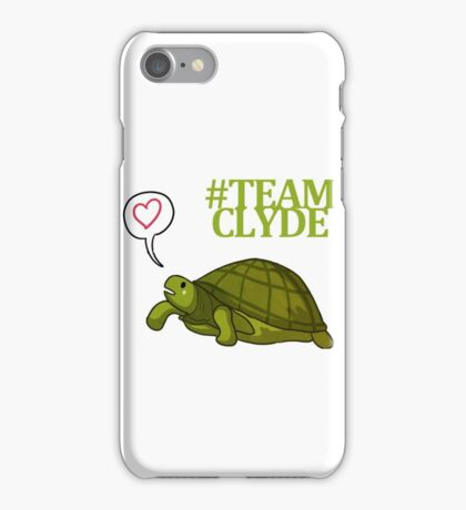 Clyde the tortoise 2 iPhone Case/Skin