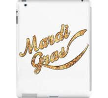 Mardi Gras Marquee New Orleans iPad Case/Skin