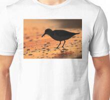 Sandpiper Silhouette Unisex T-Shirt