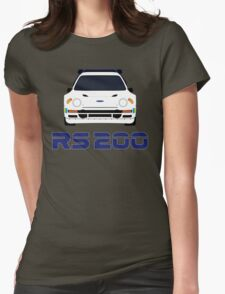 Ford RS200 Womens Fitted T-Shirt