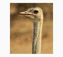 Ostrich Profile - African Wild Bird Backgrounds - Wild Neck Unisex T-Shirt