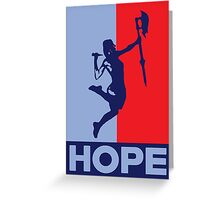 Buffy is Hope! Greeting Card