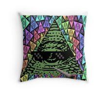 Mlg Illuminati Throw Pillow