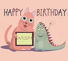 HAPPY BIRTHDAY WISH by Jean Gregory  Evans